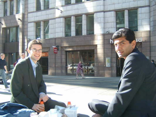 Daniel and Anup 2005